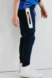 Thijs pants Dark Blue, Mister-T