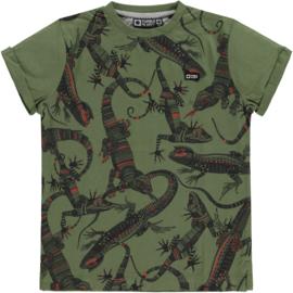 Wymer bo T-shirt km o-hals, tumble 'n Dry