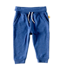 Loose fit pants blue melee, Little label