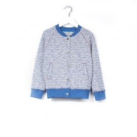 Imps&Elfs Cardigan Long sleeve bretons light blue me