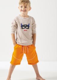 Sweat Short Boys Slim Orange, Little Label