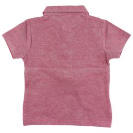 Ink SS T-Shirt GOTS Tandori Red, Enfant