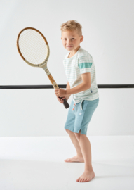 Boys short ocean green melee, Little Label