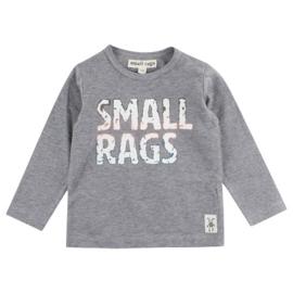 Gary LS T-shirt Grey Melange, Smallrags