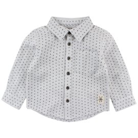 Felix LS Shirt Grey Melange, Smallrags