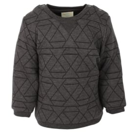 Sweat Oekotex Asphalt, Enfant