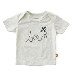 Baby shirt kort mouw Big Bee, Little label