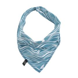 Bib wave ocean blue, Noeser