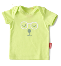 Newborn t-shirt sunny lime, Tapete