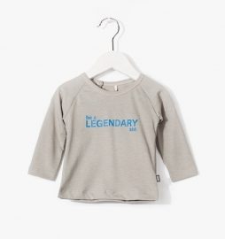 Imps&Elfs T-Shirt Long Sleeve Old Grey