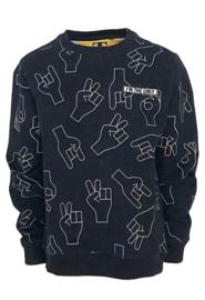 Sweater Tijl aop Hands, Topitm