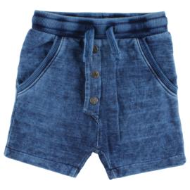Ink shorts-Oekotex indigo Blue, Enfant