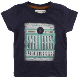 Eddy SS Top Navy Iris, Smallrags