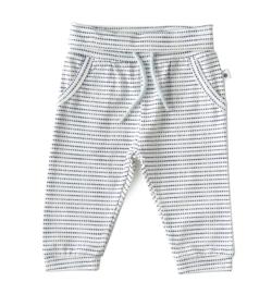 Jersey pants navy dotted stripe, Little Label
