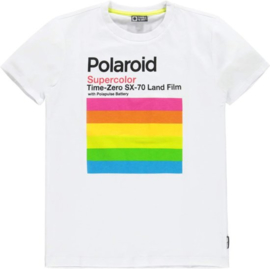 polaroid t-shirt peck white, Tumble 'n Dry