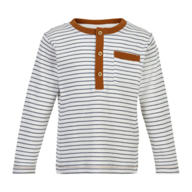 T-Shirt LS Off White, Enfant