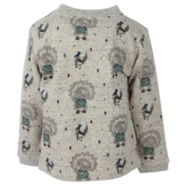 LS T-Shirt Oekotex Rainy Day, Enfant