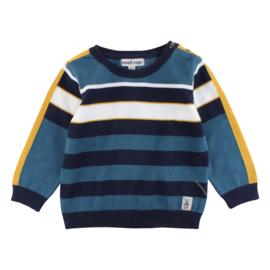 Knit Top-Oekotex Mallard Blue, Smallrags