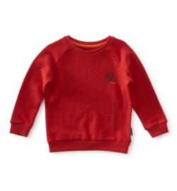 Boys sweater red bike, Little Label