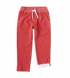 Little label Chino Sweatpants red sweat unisex kids