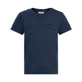 T-shirt SS GOTS Dark Navy, Enfant