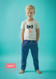 Boys t-shirt off white dots, Tapete