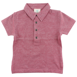 Ink SS T-Shirt GOTS Tandori Red, Enfant