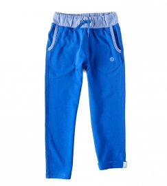 Little label Chino Sweatpants ocean blue unisex