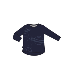 Hilly longsleeve planet midnight blue, Noeser