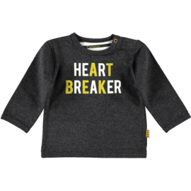 Shirt l.sl. Heartbreaker anthracite, Bess