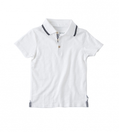 Little Label polo shirt off white kids