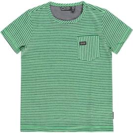 Gittey T-shirt met borstzak en streepdessin, Tumble 'n Dry