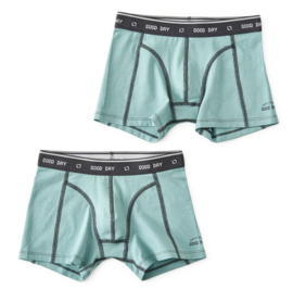 boys shorts 2 pc faded green & faded green, Little label