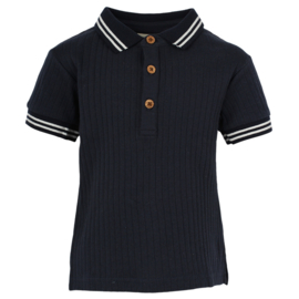 Polo T-shirt Dark Navy, Enfant
