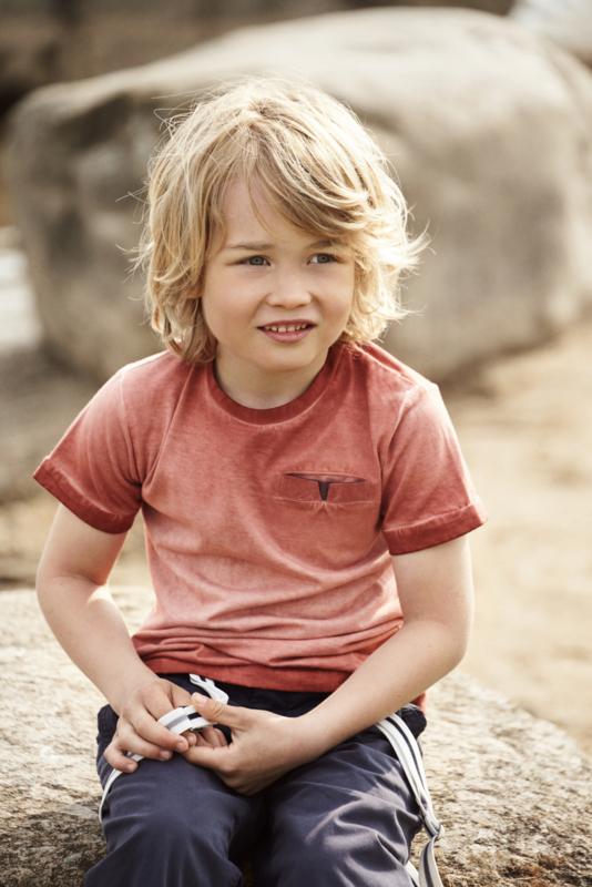 T-shirt Burnt Brick, Enfant