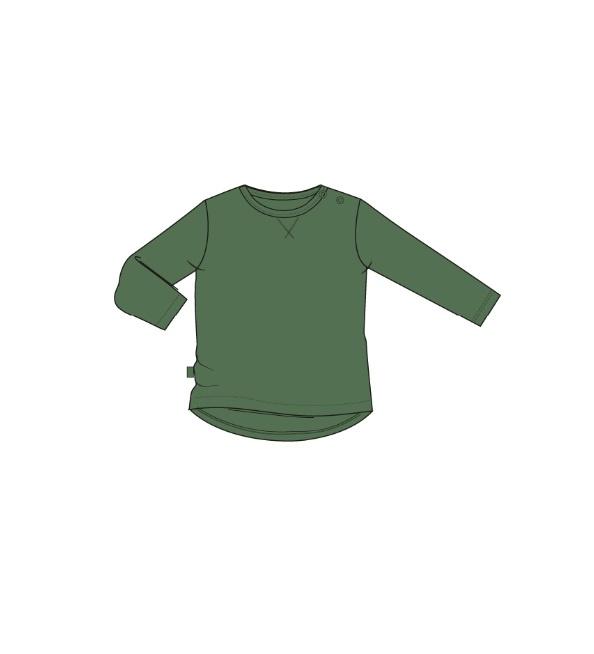 Hindy longsleeve green cosmic green, Noeser