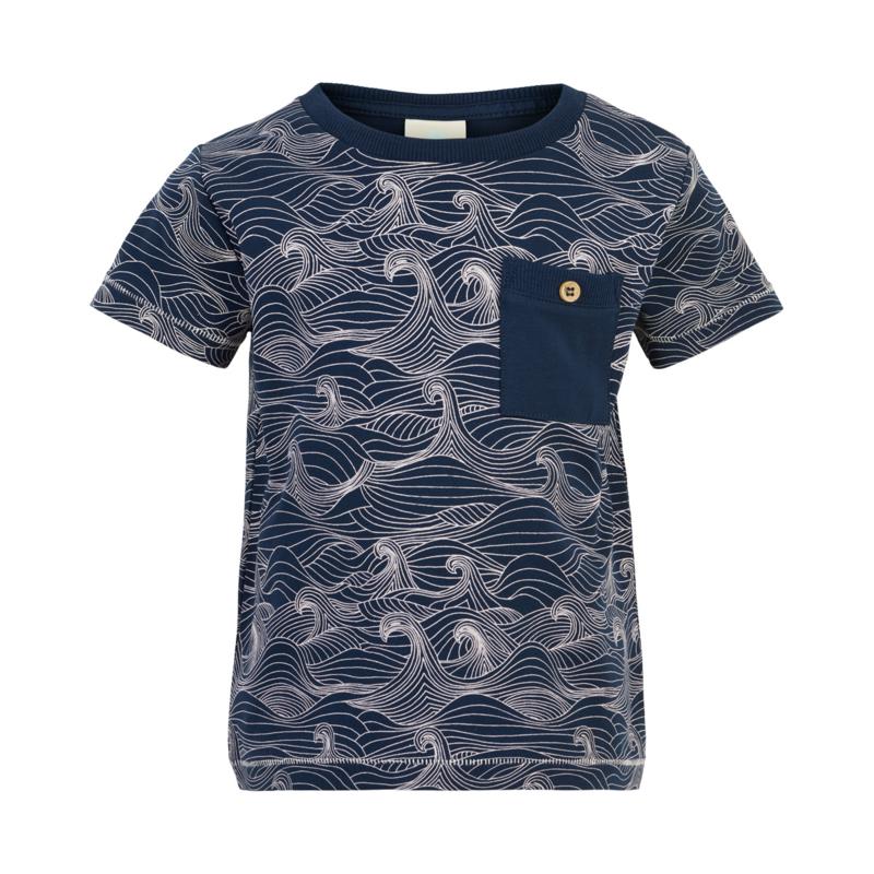 T-shirt SS Navy, Enfant