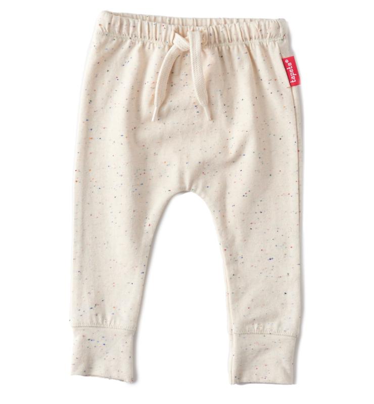 Newborn pants off white dots, Tapete