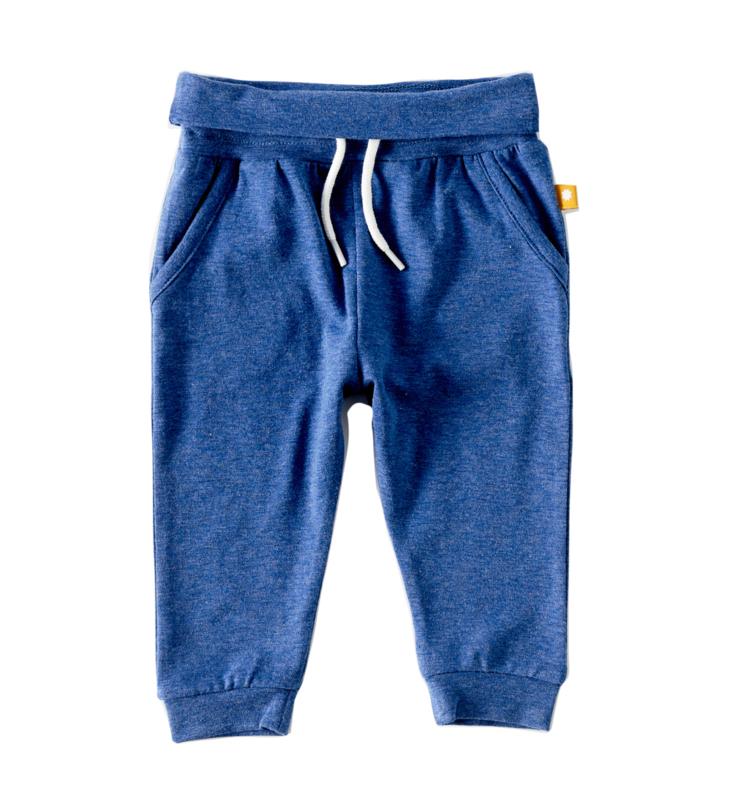 Loose fit pants blue melee, Little label