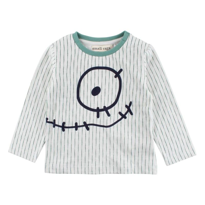 LS T-shirt-Oekotex Foggy Dew, Smallrags