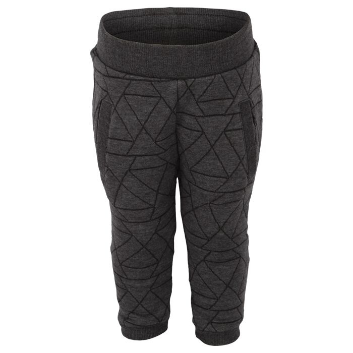 Pants Oekotex Asphalt, Enfant