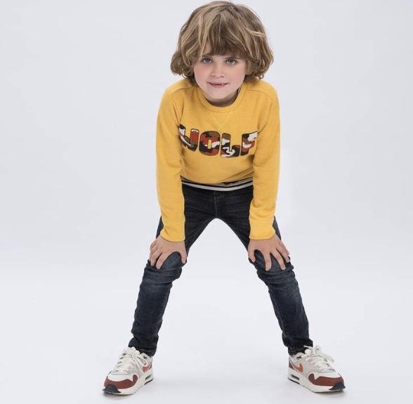 Vygo Sweater Jongens Mid, Tumble 'N Dry