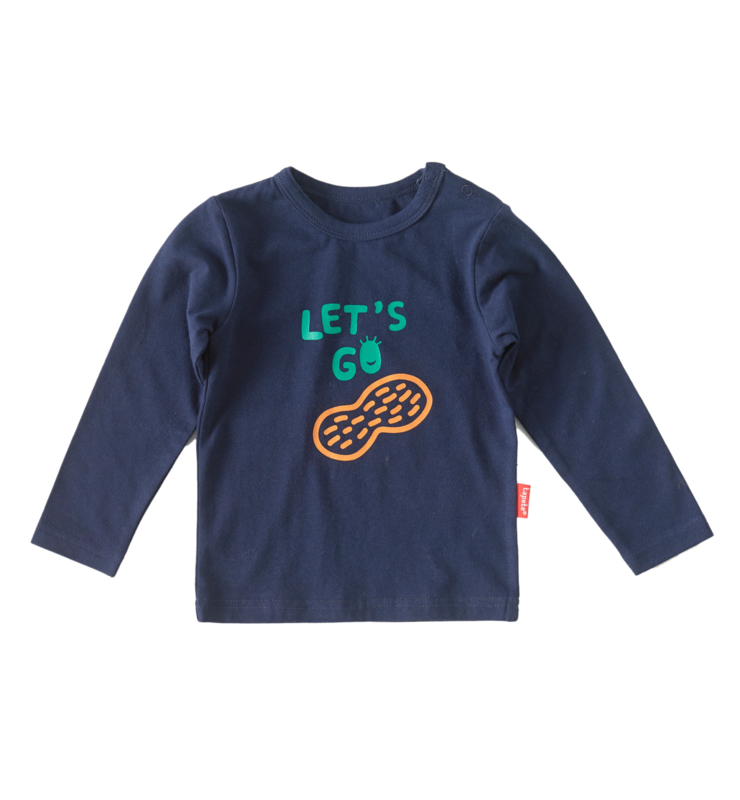 Boys shirt longsleeve dark blue, Tapete