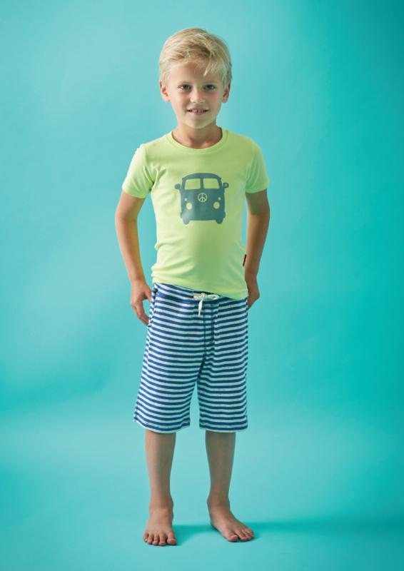 Boys t-shirt Sunny Lime, Tapete