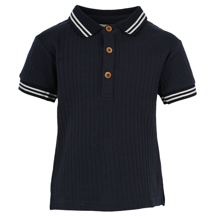 Polo T-shirt Dark Navy, Enfant