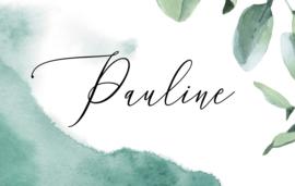 Bestelling Pauline