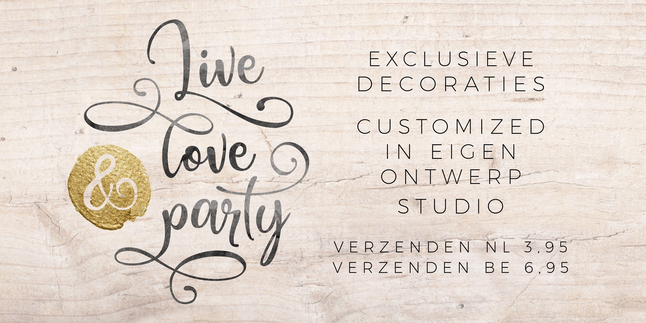 Live Love Party Wedding Eventprints