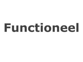Functioneel