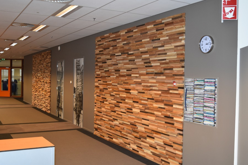 Wanden bekleed met Wonderwall Studio's