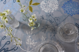 "Tablecloth ""Blue Light"""